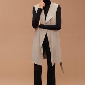 Aritizia Babaton Marcelo Vest Trace Small-Medium